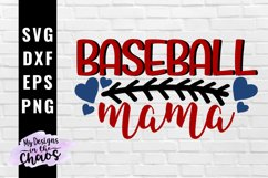 Baseball Mama SVG EPS DXF PNG | Baseball Mom SVG Product Image 1