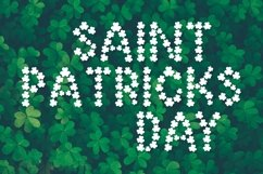 Pure Luck - A Shamrock Font Duo Product Image 2