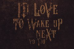The Crow - Vintage Style Font Product Image 5