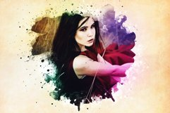Watercolor Photoshop PSD Template Product Image 4