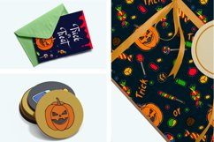 Halloween collection. Patterns, Elements, Posters Product Image 5