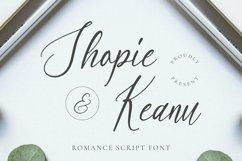 Web Font Shopie & Keanu Font Product Image 1