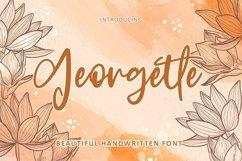 Web Font Georgette - Beautiful Font Product Image 1