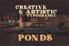 Ponds Typeface Product Image 6