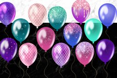 Mermaid Balloons Clipart Product Image 4