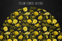 PATTERNS with YELLOW FLOWERS Product Image 6