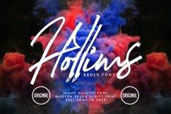 Hollims | Brush Script Font Product Image 1