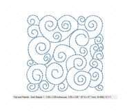 Quilt Block Stippling in 3 sizes Product Image 4