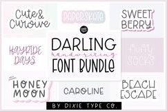 HANDWRITING FONT BUNDLE - Girly & Stylish Handwriting Fonts Product Image 1