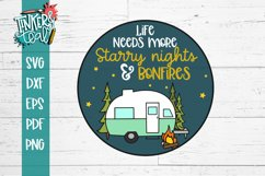 Life Needs More Starry Nights and Bonfires SVG Product Image 2