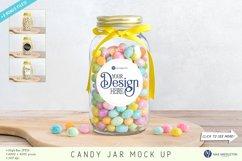 Candy Jar, Sticker Label, Gift Tag Mockups | 4 JPG files Product Image 1