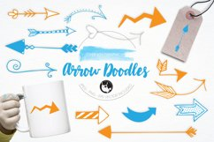 Arrow Doodles graphics and illustrations Product Image 1