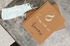 Web Font Buttonhook - Modern Script Font Product Image 3