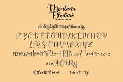 Montana Elladinor   Unique Handlettering Script Product Image 3