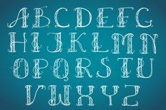 Alphabet Art Deco capital Product Image 2