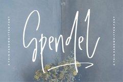 Web Font Spendel - A Handwritten Font Product Image 1