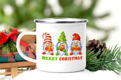 Gnomes Christmas sublimation designs Watercolor christmas Product Image 4
