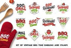BBQ bundle. Food quotes. Design sublimation Product Image 1