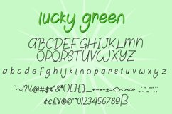 Lucky Green Font Duo Product Image 6