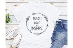 Teacher Svg Bundle, Teacher Svg, Teacher SVG Files, Teacher Product Image 6