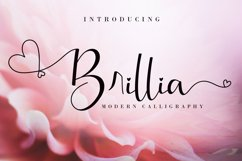 Brillia Calligraphy Product Image 1
