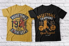 Basketball skeleton 10 t-shirts set Product Image 6