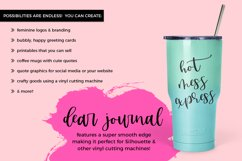 Dear Journal Calligraphy Font Product Image 2