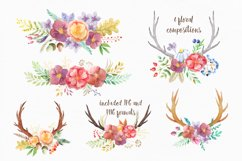 Watercolor Rustic Forest Set Product Image 3