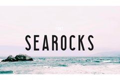 Searocks | A clean condensed font Product Image 1