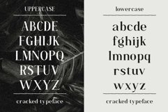 Cracked//A Handlettered Serif Product Image 4
