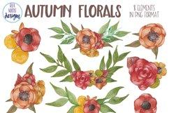 Autumn Florals Clip Art Product Image 4