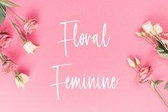 Web Font Feminism - Cute Handwritten Font Product Image 5