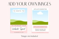 Pink Pinterest Templates for Canva Product Image 3