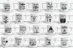 Coffee Quotes Bundle Vol 2 SVG, EPS, DXF, PNG Product Image 2