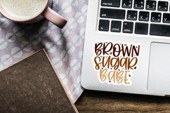Digital and printable stickers bundle Black girl magic cutie Product Image 3