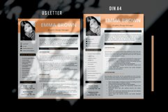 Modern CV with picture, Cover Letter and References Page Product Image 4