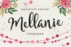 Mellanie Script Product Image 1