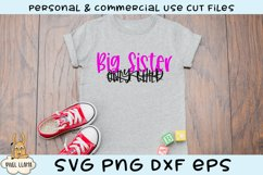 Only Child Big Sister SVG Product Image 1