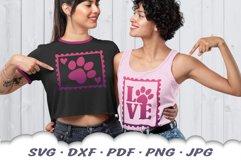 Dog Mom Postage Stamps SVG Bundle DXF Cut Files Product Image 4