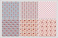 Gnome Valentines digital papers - 30 Seamless Designs Product Image 6