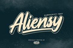 Aliensy | Handscript Font Product Image 1