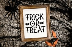 Web Font Booyah - A Hand-Lettered Halloween Font Product Image 4