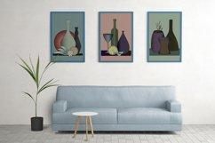 Still Life Printable. Abstract Modern Art set of 3 prints Product Image 3
