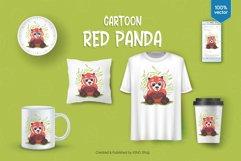Big cartoon red panda. Product Image 3