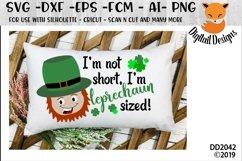 St Patrick's Day Funny I'm Not Short I'm Leprechaun Sized Product Image 1