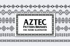 Aztec Pattern Brushes Product Image 1