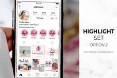 Instagram Template Bundle for Canva | Pink Watercolor Product Image 2