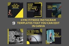 Instagram Post Template- Gym/ Fitness Product Image 2