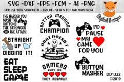 Video Gamer Geeky SVG Bundle Product Image 1