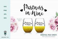 Wine lovers bundle - SVG files Product Image 5